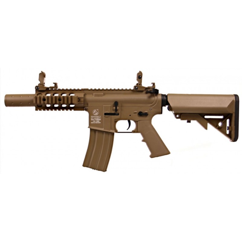 Electric Rifle M4 Mini Special Forces Tan Full Metal Colt 180867